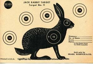 Мишень кролик