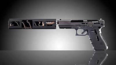 Глушитель на пистолет