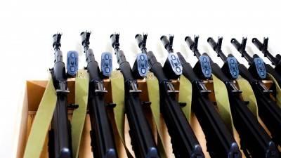 machine-guns AKMS