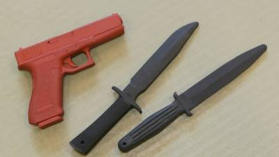 Self Defence Practice Weapons
