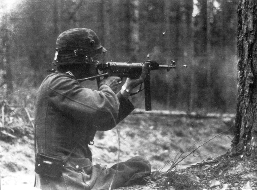 немец MP40