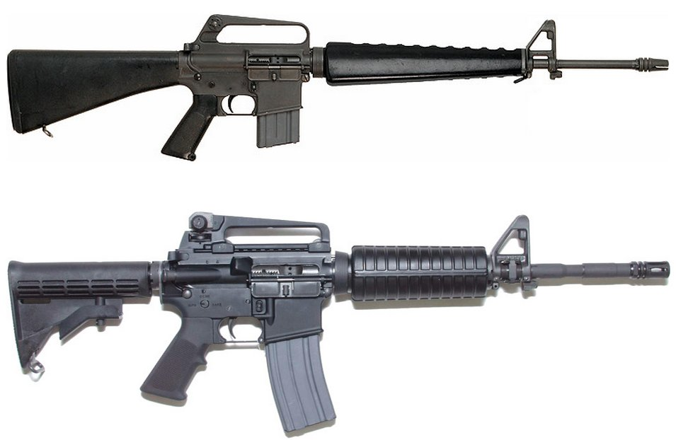M4 and M16