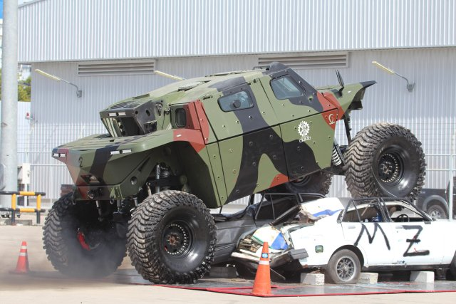 IMI_is_demonstrating_its_high_mobility_armored_combat_vehicle_at_Defense_and_Security_2015_640_002
