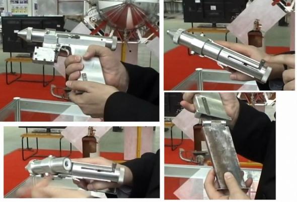 Лазерный пистолет космонавтов