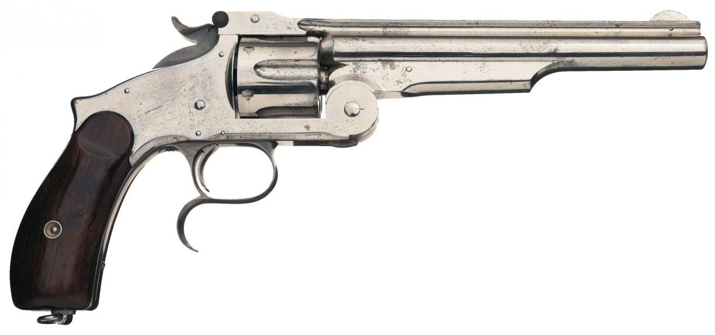 Model 3 Smith & Wesson. Пистолет выпущен между 1873 и 1878 годом