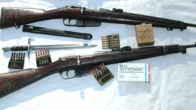 M91/38 TS Carcano