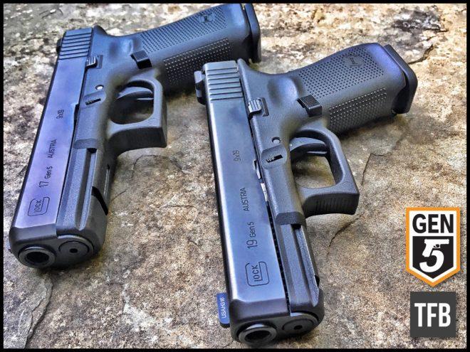 Glock 17 и Glock 19 Gen 5