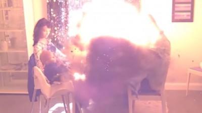 взрыв гранаты