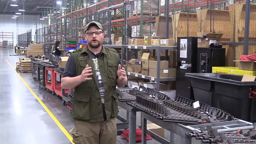 Daniel Defense Factory Tour 14-8 screenshot